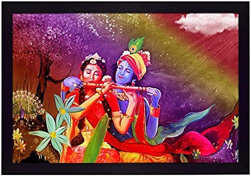 Anjani Ritwikas Abstract Wall Art Sales of SALE Dealing full price reduction items from new works with Playing Radha Flute Kr