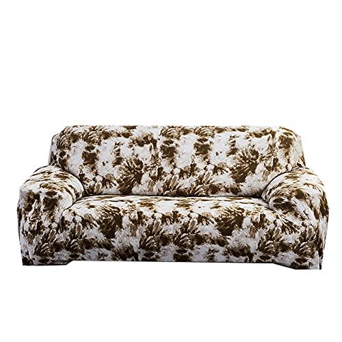 FKRAINSAN Gekritzel All Inclusive Stretch Sofa Cover, Staubschutz Nichtrutsche Four Seasons Universal Sofa Protector, abnehmbar waschbar,Gray Green,195/230cm