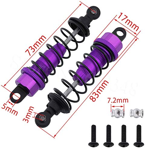 Why Choose Part & Accessories K949 Upgrade Parts Aluminum Front Shock Absorber 83mm Assembled For 1/...