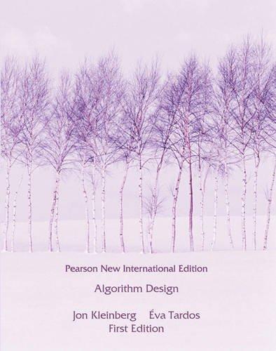 Algorithm Design: Pearson New International Editionの詳細を見る