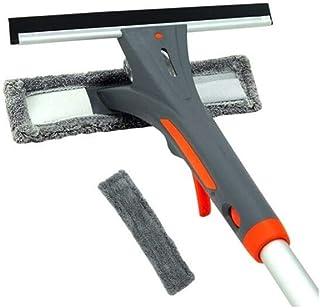 GYHZP Glass Cleaning Equipment, Spray Window Cleaning Equipment, Cleaning Cloth/Scraper Integrated Design, Telescopic Pole...