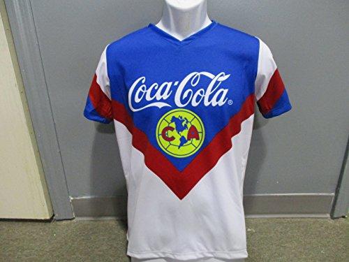 Soccer Club America Retro Replica Jersey Manga Corta seleccion Mexicana (XXLarge)