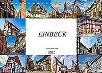 Einbeck Impressionen (Tischkalender 2022 DIN A5 quer): Zwoelf einmalige Bilder der Stadt Einbeck (Monatskalender, 14 Seiten )