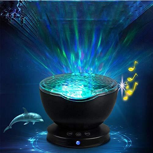 Zangao LED-Nachtlicht-Projektor, Sternenhimmel, romantisch, bunt, LED-USB-Projektionslampe, plastik, Weiß