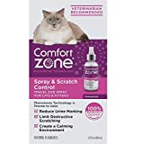 Comfort Zone Spray & Scratch Control Spray Cat Calming, 2 ounces