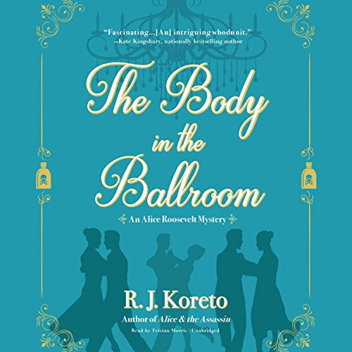 The Body in the Ballroom audiobook cover art