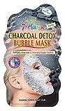7th Heaven Máscara facial de carbón desintoxicación con carbón purificante y burbujas de...