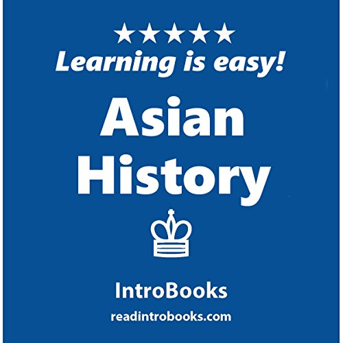 Asian History audiobook cover art