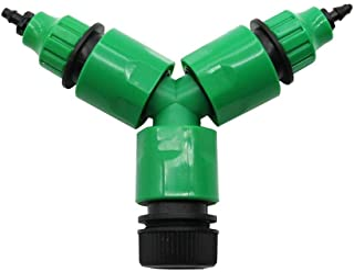 1 مجموعة رشاش خرطوم 3 طريقة Y نوع موصل سريع أدوات الزراعة محول الري بالتنقير، قوي ومتين (اللون: النوع 2)