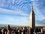 Zhyxia NuevosRompecabezas Juguetes Empire State Building Rompecabezas Diversin 1000 Piezas Rompecabezas de Madera Juego Adulto Nios Ocio Entretenimiento Juego Rompecabezas