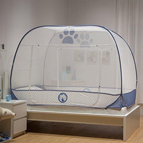 Pop-up tent met drie openingen voor jongens en meisjes, slaapkamer of campingbeddengoed, ultrafijne bescherming van het net, geen chemicaliën