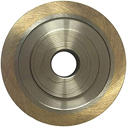 Drilax 8 inch Grit 80 Professional Quality High Density Diamond Coated Flat Lap Lapping Lapidary Wheel Disc Glass Jewelry Polishing Tool Grinding Sharpening Metal Back 1//2 Arbor G0080