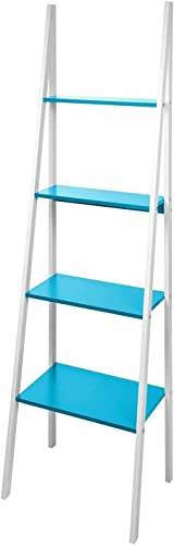 Interio Schrank, MDF, mit Weißher Innenausstattung und Muschel, Blau Blau