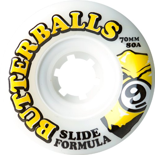 Sector 9 Slide Butterballs 80a 70mm Longboard Wheels (Set Of 4)
