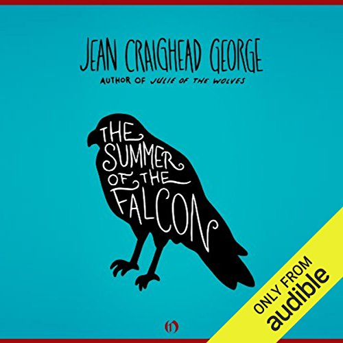 The Summer of the Falcon audiobook cover art