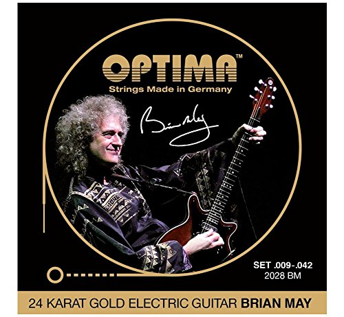 Optima Signature Brian May 009/042 gold