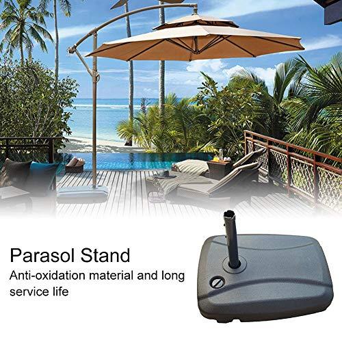 Garden Umbrella Base Outdoor Sonnenschirmständer Wassergefüllter Patio Umbrella Base für Hinterhof im Freien