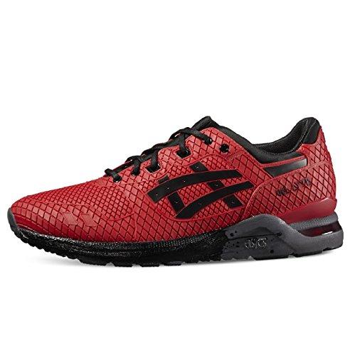 Asics Gel-Lyte Evo Sneaker Herren rot schwarz - 8½