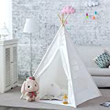 RONGFA 2017 nuovi bambini bianchi giocare a teepee tenda indoor con una finestra