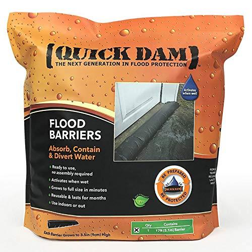 Quick QD617-1 Dam 17' Flood Barrier - 1 Barrier/Pack