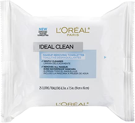 LOréal Paris Ideal Clean Makeup Removing Towlettes, ...