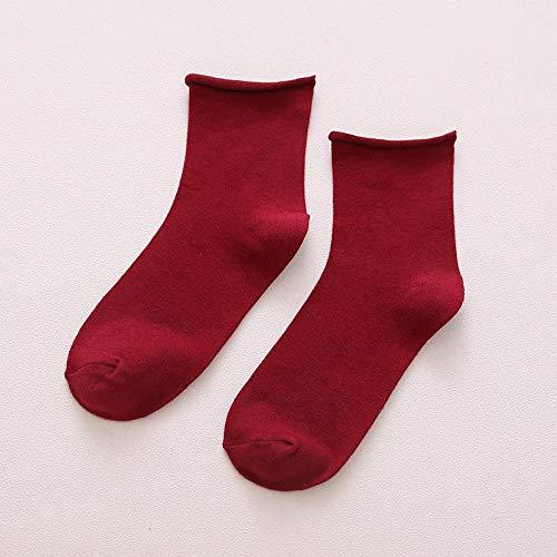 ROUNDER 5 Pares de Pilas de Calcetines para Mujer otoño e Invierno...
