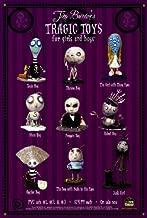 Tim Burton's Tragic Toys Poster Movie 27x40