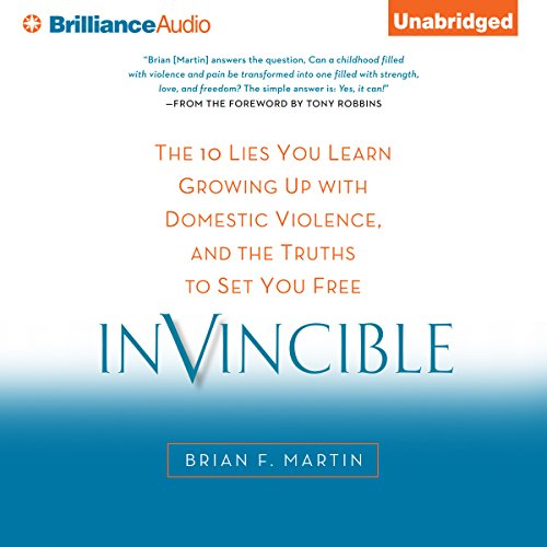 Invincible audiobook cover art