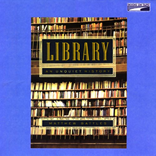 Library audiobook cover art