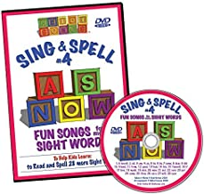 Sing & Spell the Sight Words - Volume 4 DVD