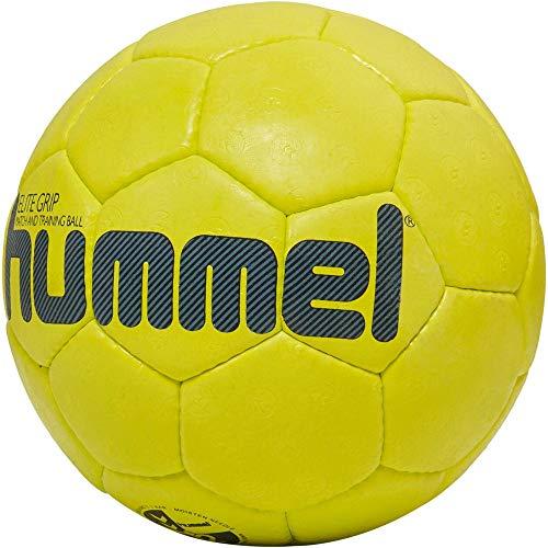 hummel HMLELITE Grip-Handball Sport, Safety Gelb/Grau, 3