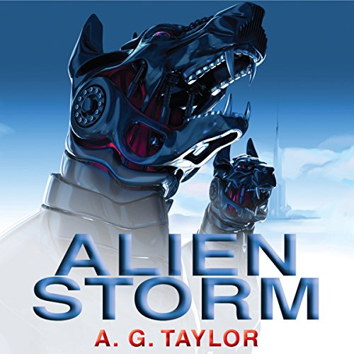 Alien Storm audiobook cover art