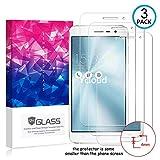 Ycloud [3 Pack] Protection écran pour ASUS ZenFone 3 (5.5pouce) ZE552KL, [9H Hardness,...