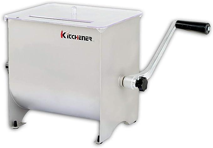 40 opinioni per Kitchener Heavy Duty Commercial Grade manovella in Acciaio Inox Mixer Carne
