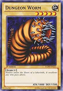 Yu-Gi-Oh! - Dungeon Worm (LCJW-EN221) - Legendary Collection 4: Joey's World - 1st Edition - Common