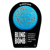 Da Bomb Bling Bath Bomb, Blue