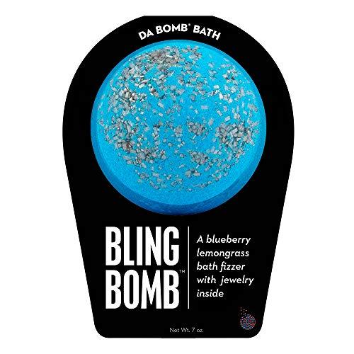 Da Bomb Bling Bath Bomb Blue