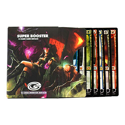 Cosmic Games Magic The Gathering Planeswalker Super Booster Pack - 15 Planeswalkers Guaranteed | 10 Mythic Rare or Rare Planeswalkers in Every Pack | Great for MTG Commander or Magic Booster drafts