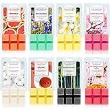 SCENTORINI Ceras Perfumadas para Derretir Aromáticos Fragancias, Cera de Soja para Lámpara de Fragancia, Aromaterapia, 70.9 g x 8