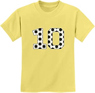 Tstars - Soccer Fan 10th Birthday Gift for 10 Year Old Youth Kids T-Shirt