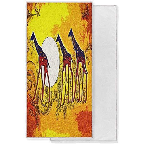 EXking kunst schilderij paard dier zonsondergang gezicht handdoek sneldrogende handdoek absorberend bad strandlaken fitnessstudio yoga sport spa 130x80cm