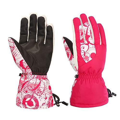 Warme en zachte duurzame handschoenen voor de winter, winddicht, waterdicht, antislip, hittebestendig, voor mannen en vrouwen die worden gebruikt voor het skiën en snowboarden.