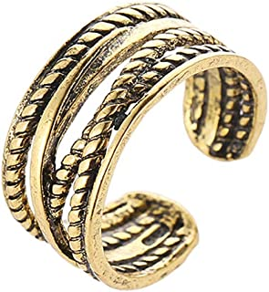 expandable gold wedding rings