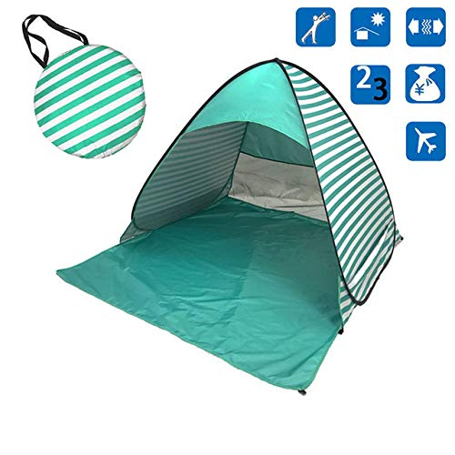 Beach Tent Ultralight Folding Tent Pop-Up Automatic Open Tent Family Travel Tent