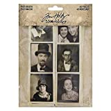 Tim Holtz, Advantus Photobooth Vintage Photos, black and white