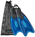 Cressi Italian Made Palau Long Fin Adjustable Flippers for Scuba and...