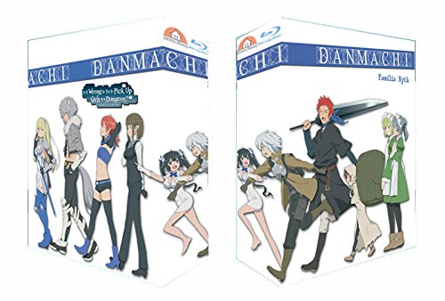 DanMachi - Is It Wrong to Try to Pick Up Girls in a Dungeon? - Drop Item Special Box - Gesamtausgabe - [Blu-ray] Limited Edition