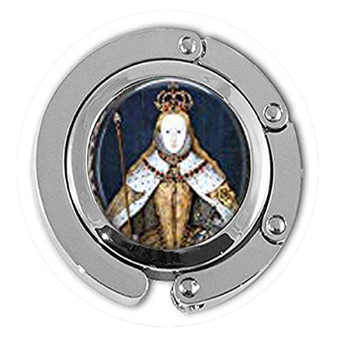 Queen Elizabeth I in her Coronation Robes British Monarch – Queen Elizabeth Big Ben – Great Britain Memento Hanger Literary Jewelry