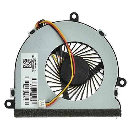 LPUK Ventilador de refrigeración de repuesto compatible con Dell Inspiron 15 3521, 15 3537, 15R 5521, 15R 5537