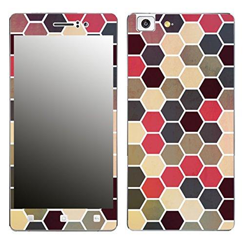 Disagu SF-106221_1205 Design Folie für Oppo R5 - Motiv Polygone 02